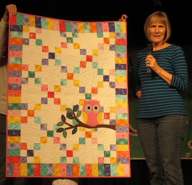 11 Mary Olson - Pink Owl