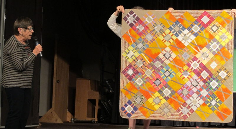 15 Ann Albertson - Shirt Quilt