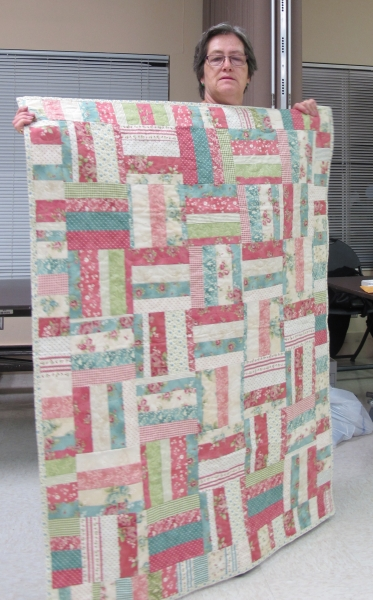 Philanthropy Strip Quilt