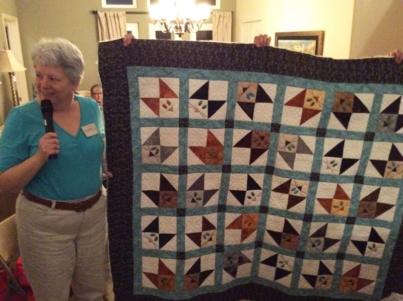 Rebecca Lighthill - Kitty Corners, started 2009 with help.