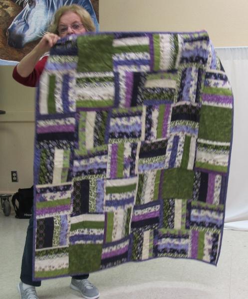 Lou Pennock - String quilt