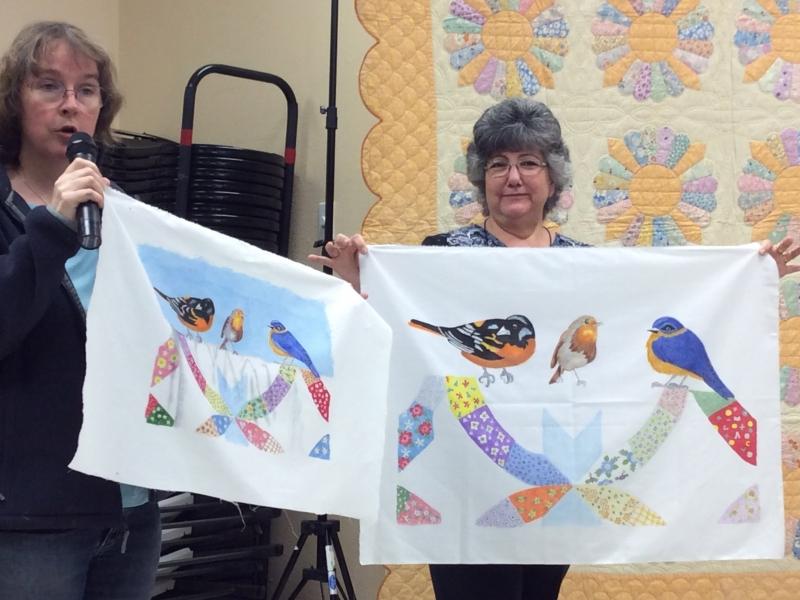 Patt Blair Paint Retreat - Shelly Gragg & Gloria Mauno