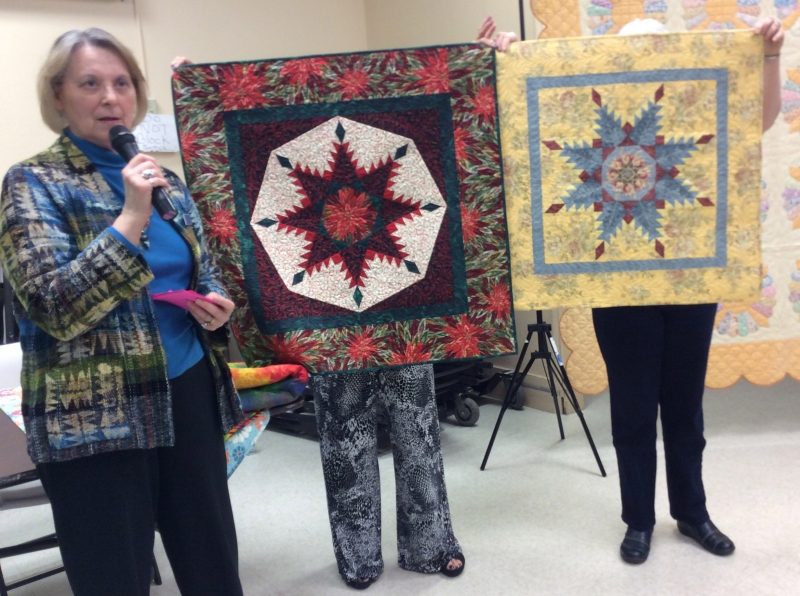 Peggy Martin - Feathered Star Quilts