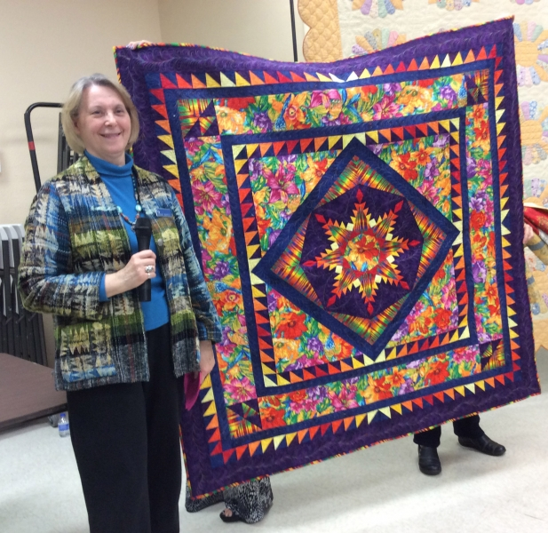 Peggy Martin - Feathered Star Quilt