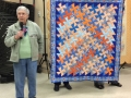 Pat Wolfe - Pinwheel Quilt - For 2nd great-granddaughter due June 1st.